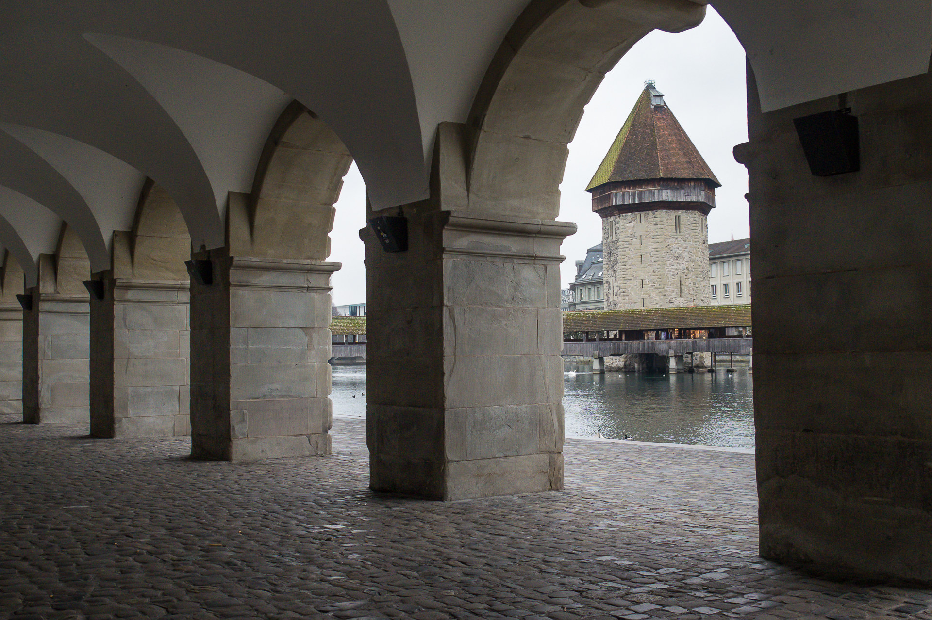Elias Meier   Meine Politik   Kapellbrücke, Luzern